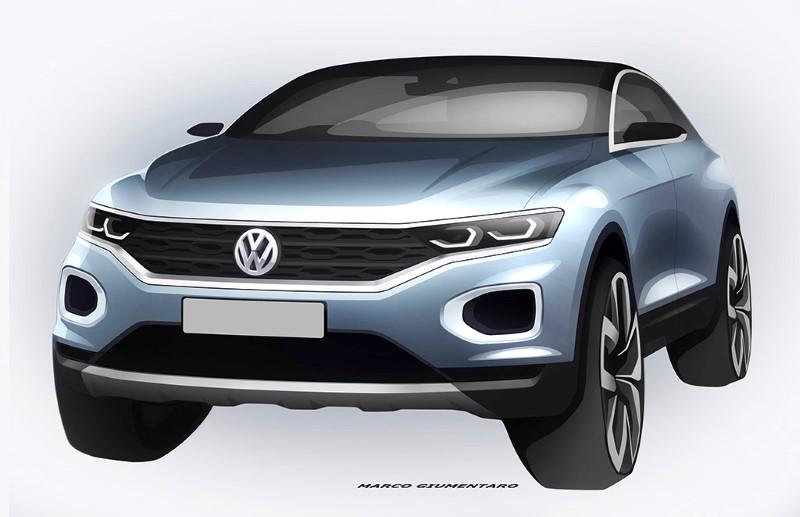 Weltpremiere des neuen Volkswagen T-ROC am 23. August 2017