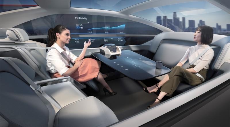 Volvo 360c Interior Office