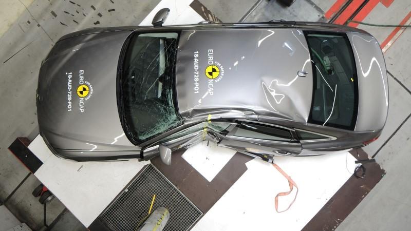 foto crashtest Audi A6