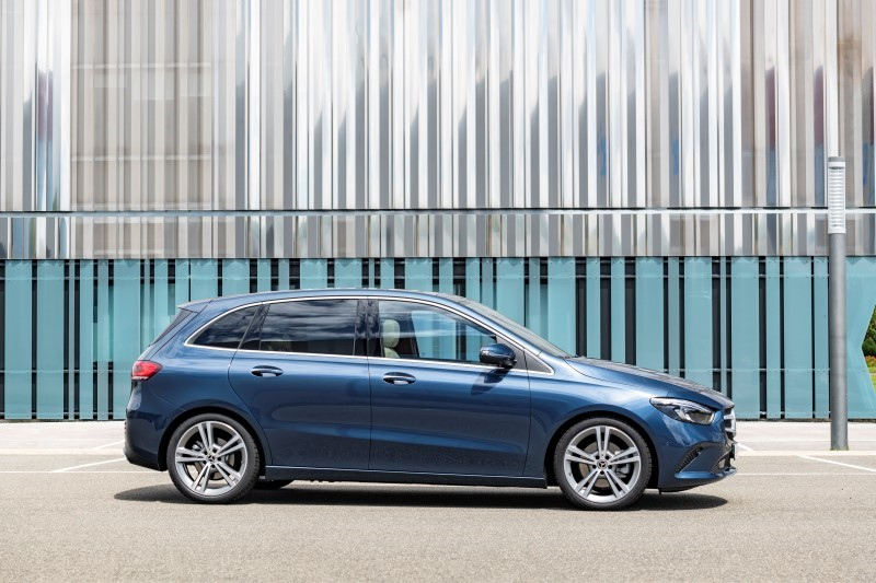 Die neue Mercedes-Benz B-Klasse: Mehr Sports für den TourerThe new Mercedes-Benz B-Class: More Sports for the Tourer