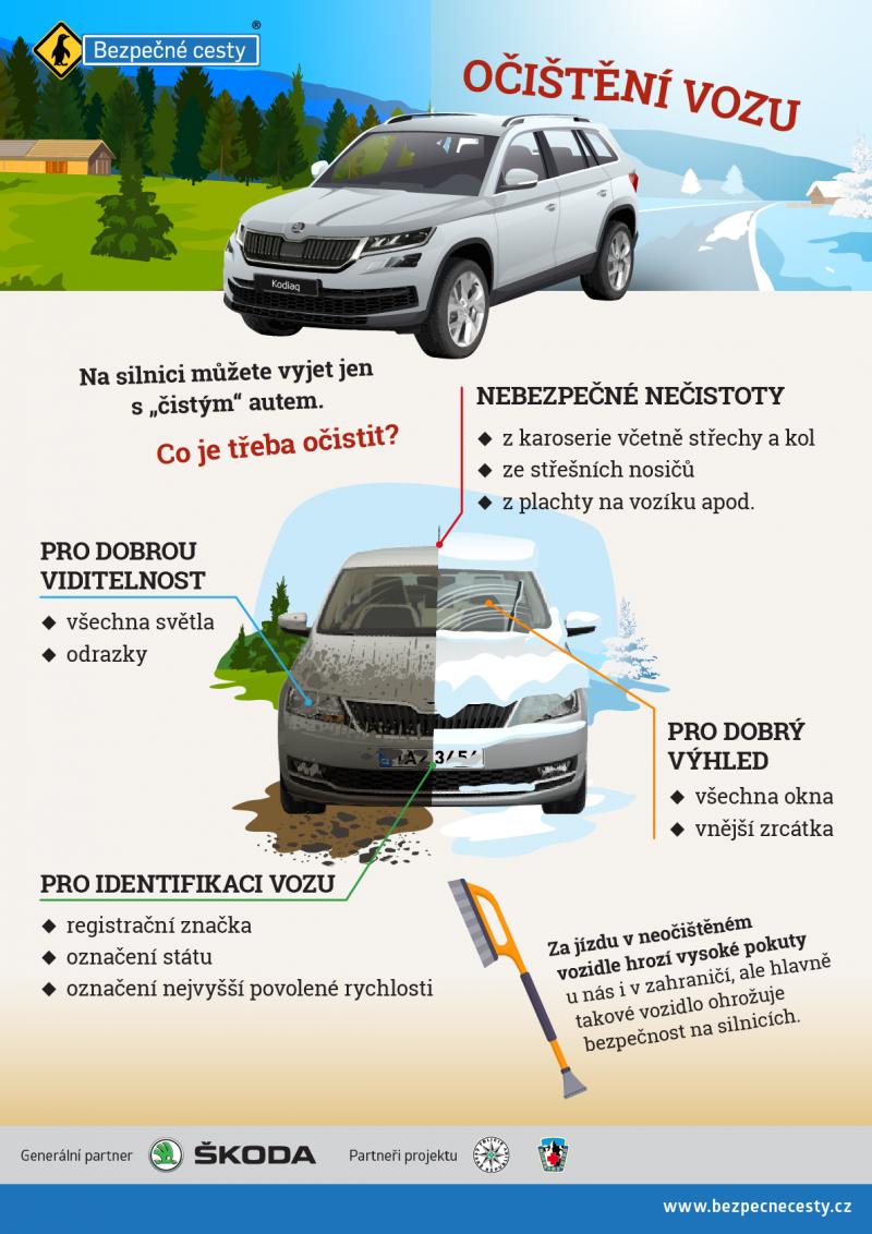 besip - očištění vozu