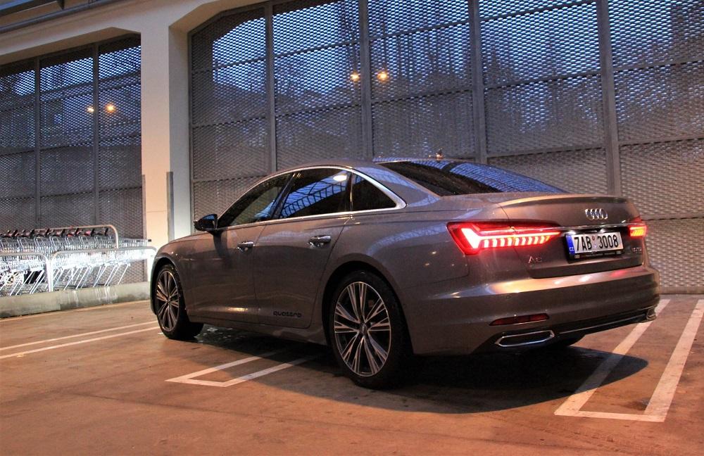 test Audi A6