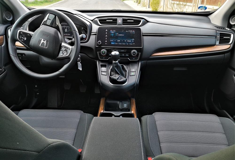 Honda CR-V test