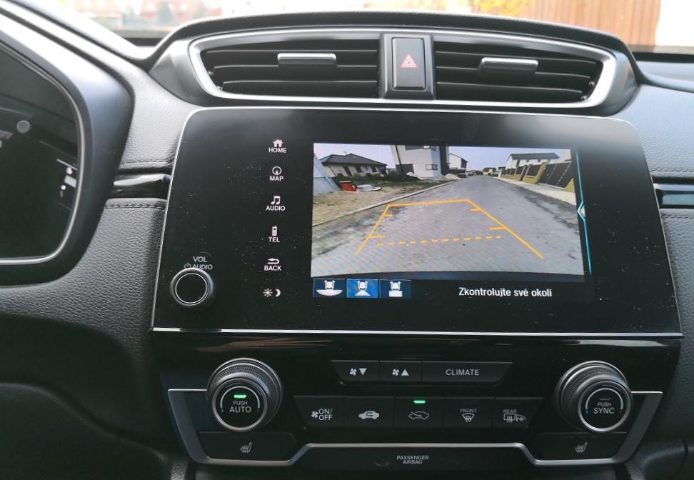 test Honda CR-V