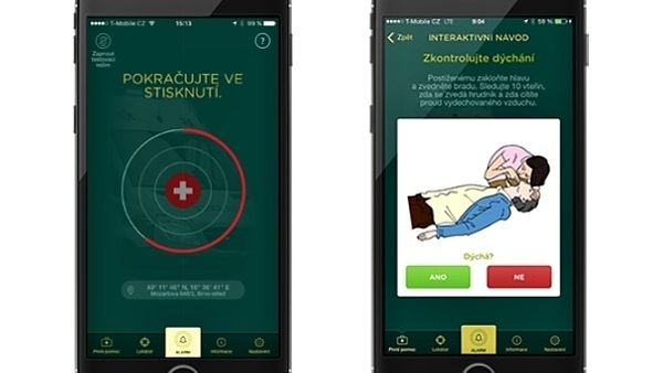 zachranka aplikace
