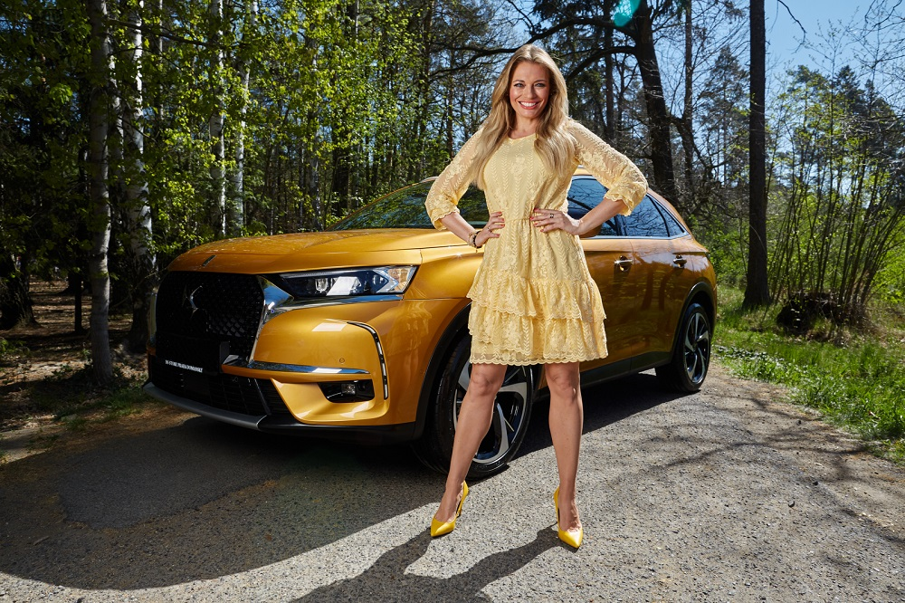 Lucie Borhyova a DS 7 Crossback