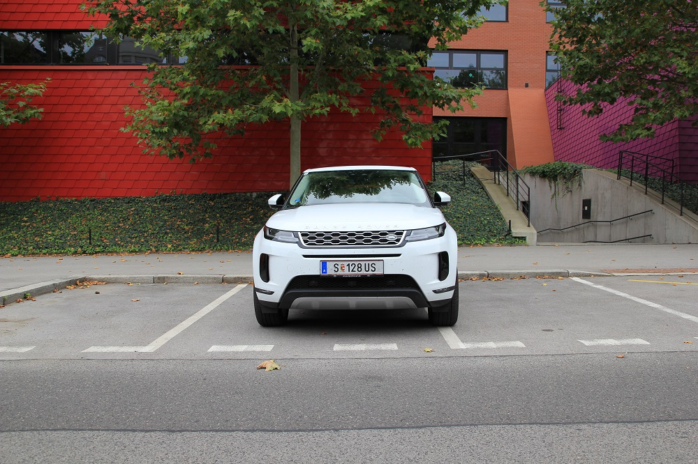 test Range Rover Evoque 2019
