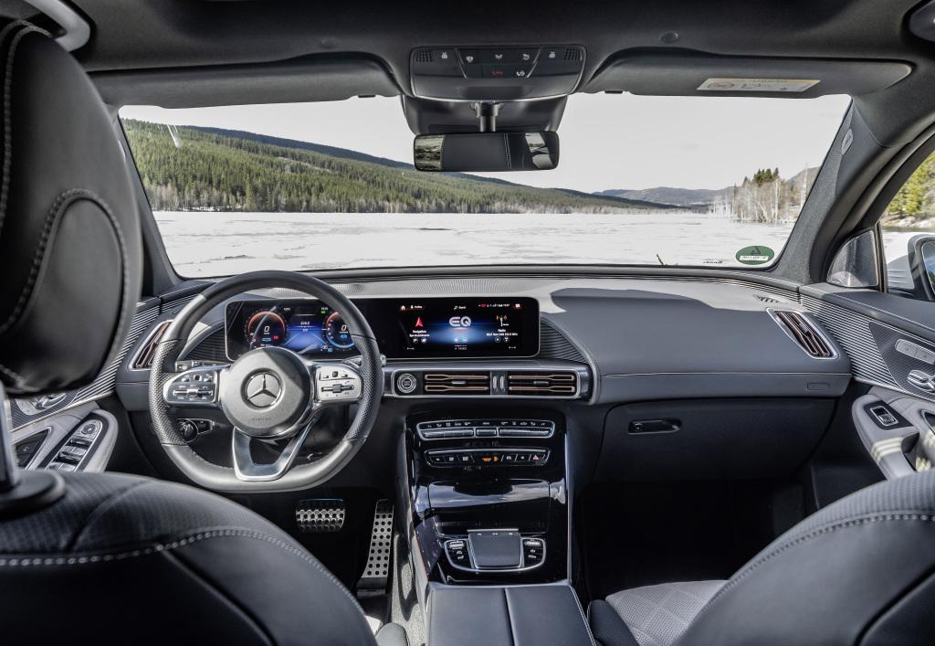 Der Mercedes-Benz EQC: Elektrische IntelligenzThe Mercedes-Benz EQC: Electric Intelligence