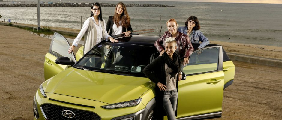 Sarka Schmidtova pri testování Hyundai Kona