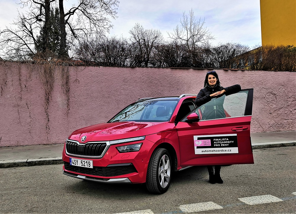Sabina Kvášová - porotkyně AUTO MÉHO SRDCE 2020