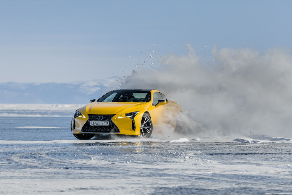 Lexus LC na Bajkale 2