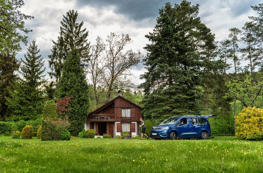 Cestování po Česku s Toyotou Proace City