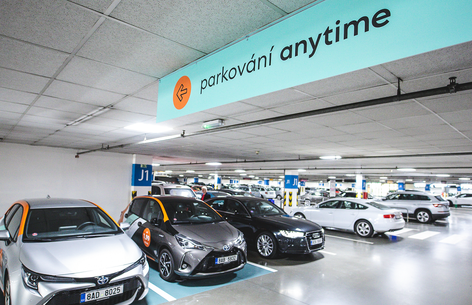 Parkování pro Anytime v Galerii Butovice_web