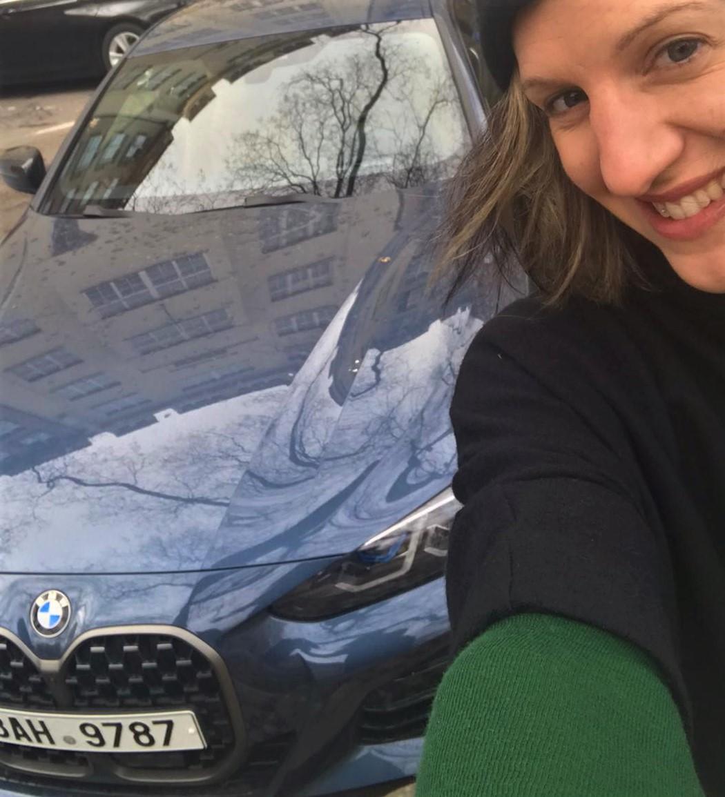 BMW 4 otestovala Bára Skočdopole
