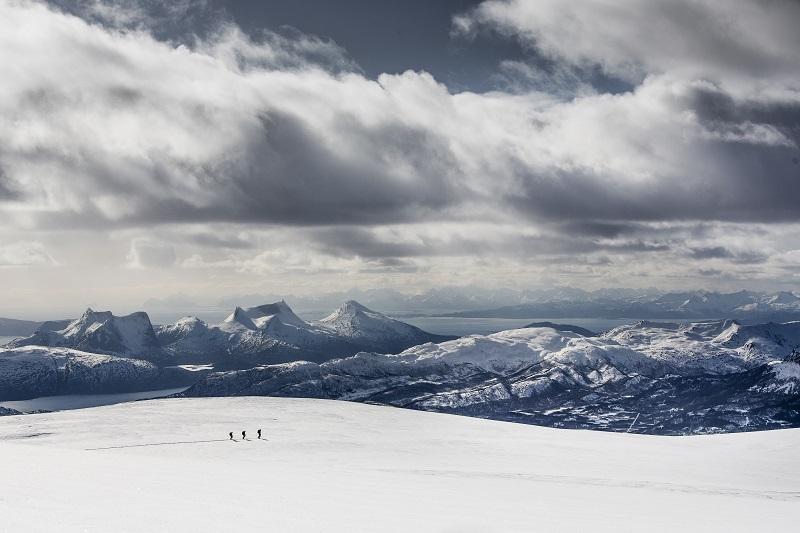 Fotografering för Fjällräven i Narviksområdet (Simlefjellet) i April 2016