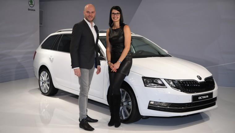 Peter Olah, designér Škoda Auto a šéfredaktorka našeho magazínu