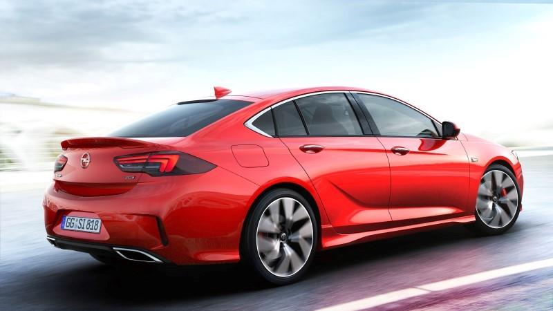 2017 Opel Insignia GSi