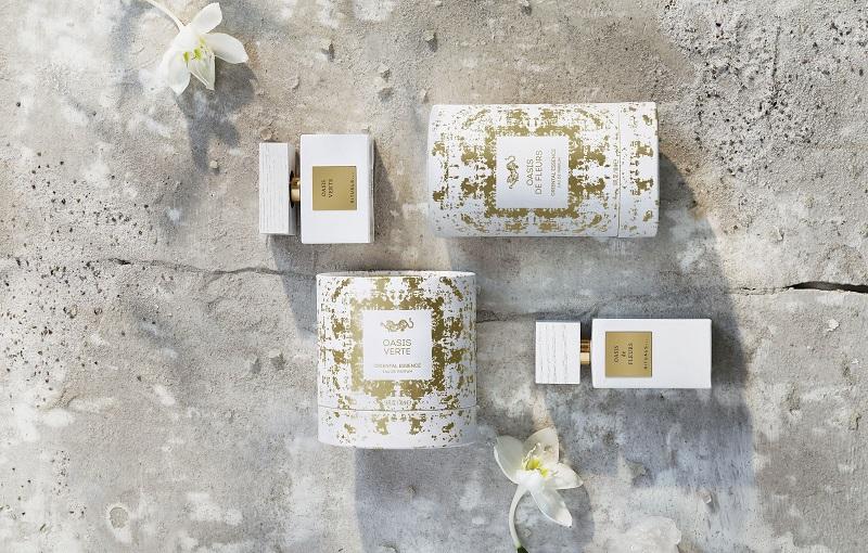 Rituals.cz_limitovana letni edice parfemu - pansky Oasis Verte, damsky Oasis de Fleurs, 50 ml, cena 1135 Kc