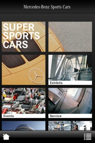 super sports cars mercedes benz app