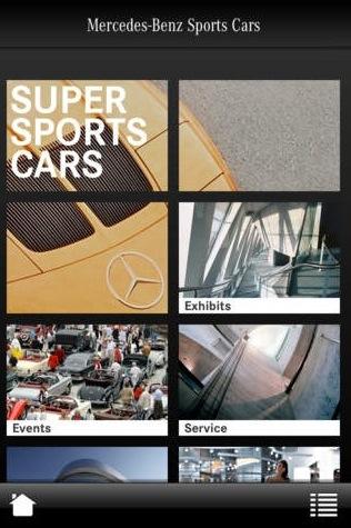 super sports cars mercedes benz app