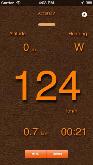 app rychlost